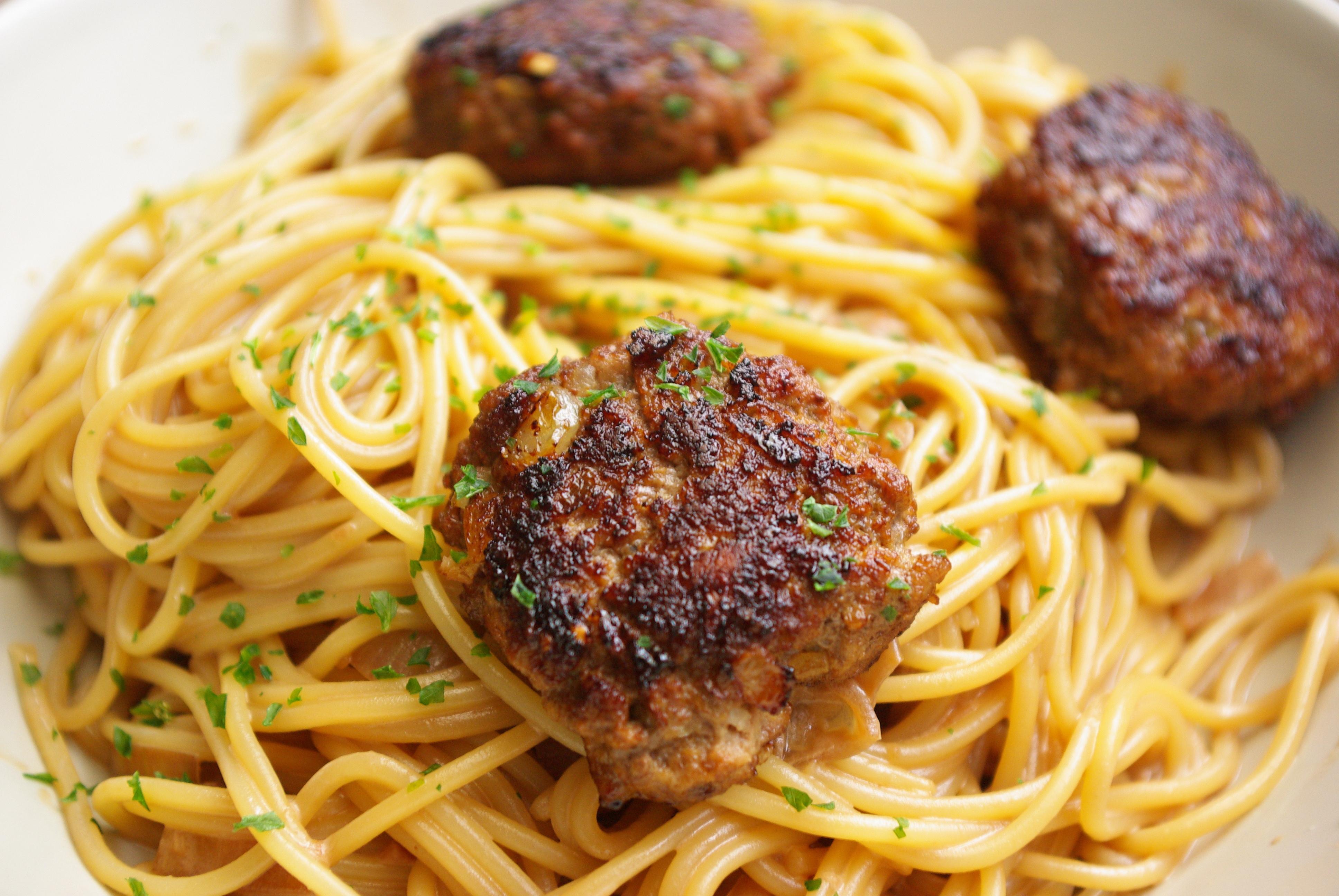 färga spagetti
