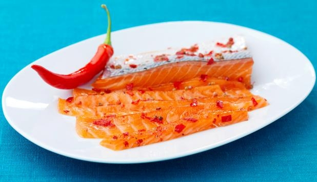 Chiligravad lax