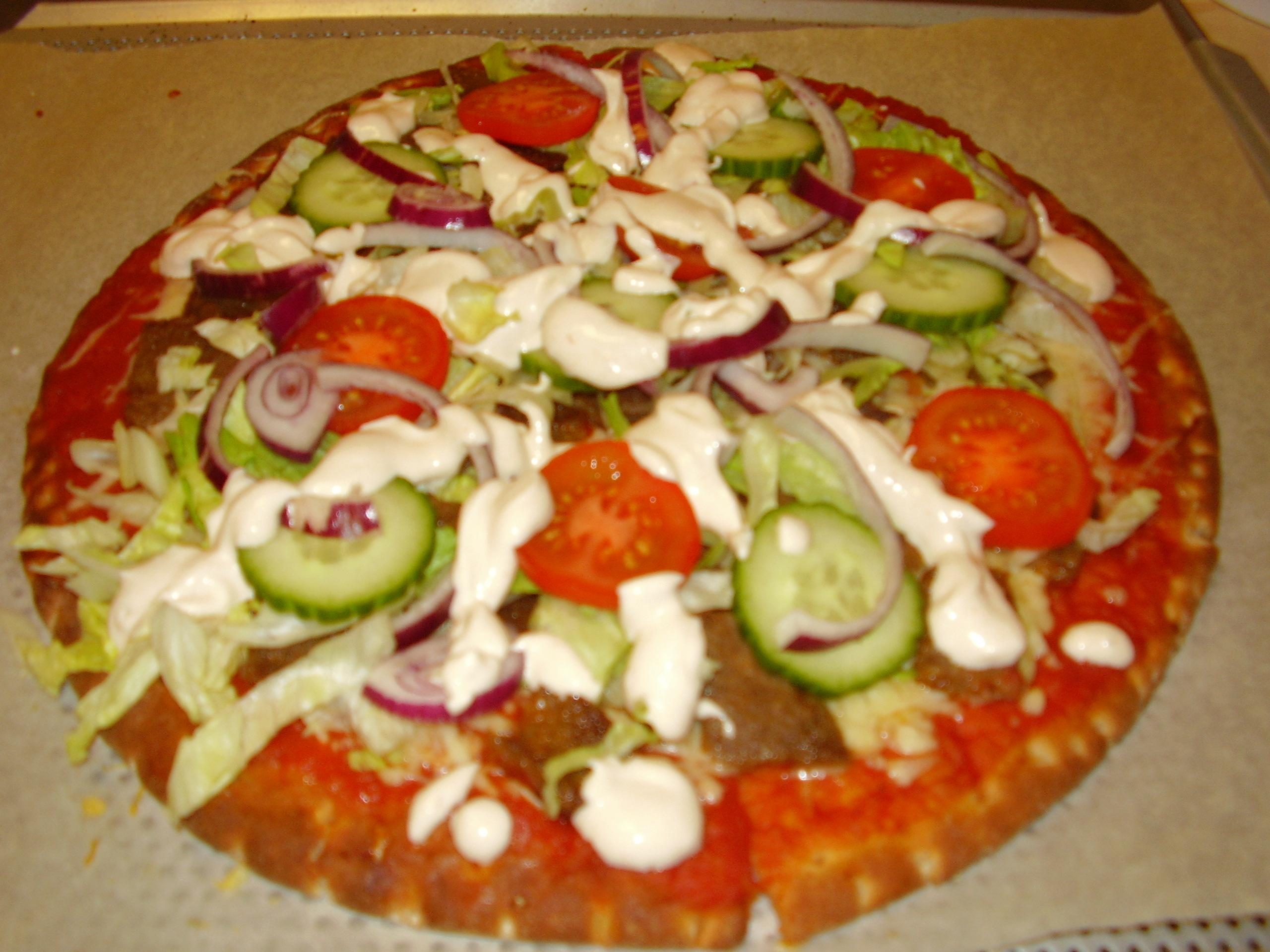 pizza hönökaka