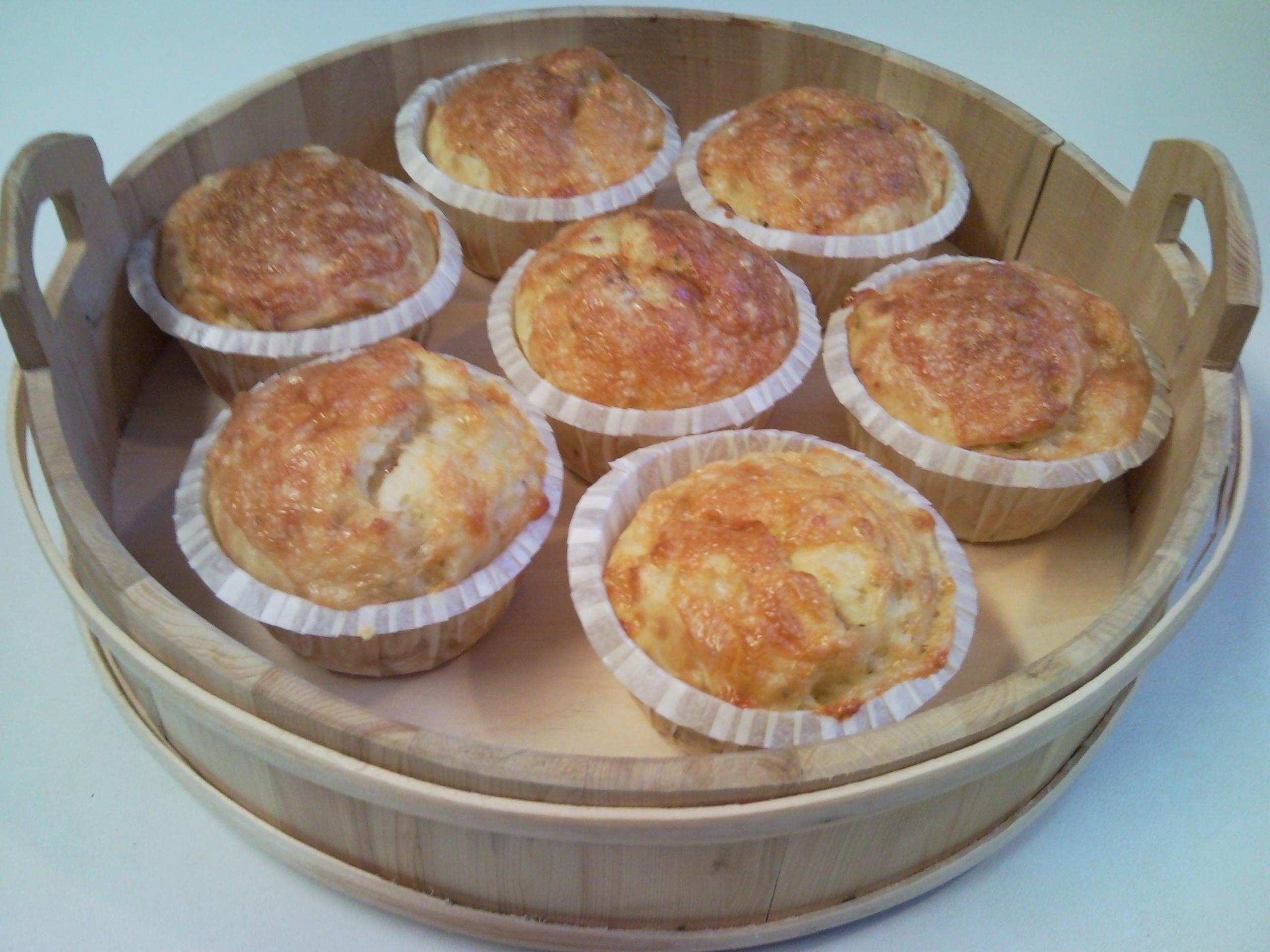 mellanmåls muffins