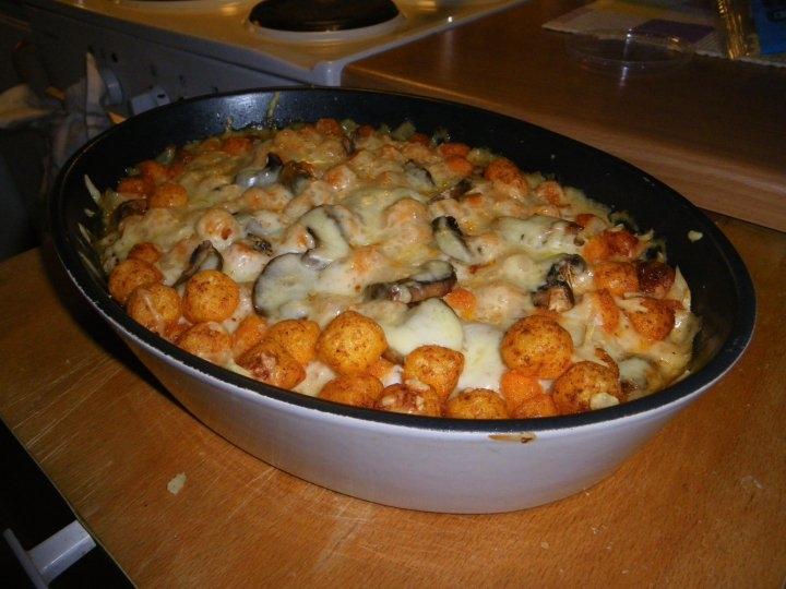 cheeseballs gratäng