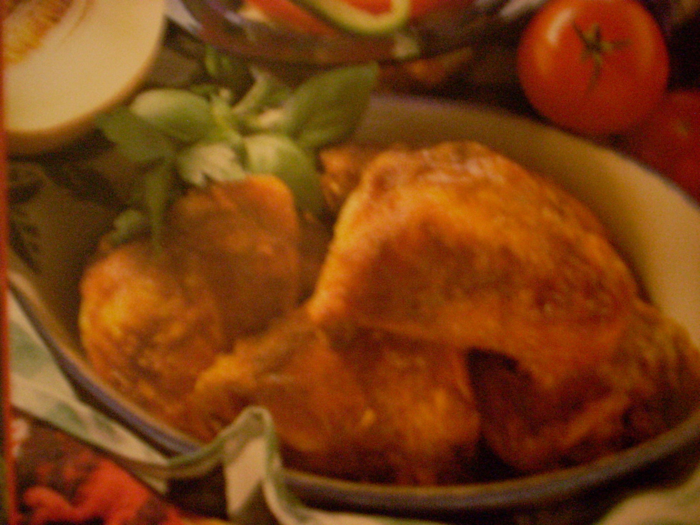 kryddiga kyckling vingar