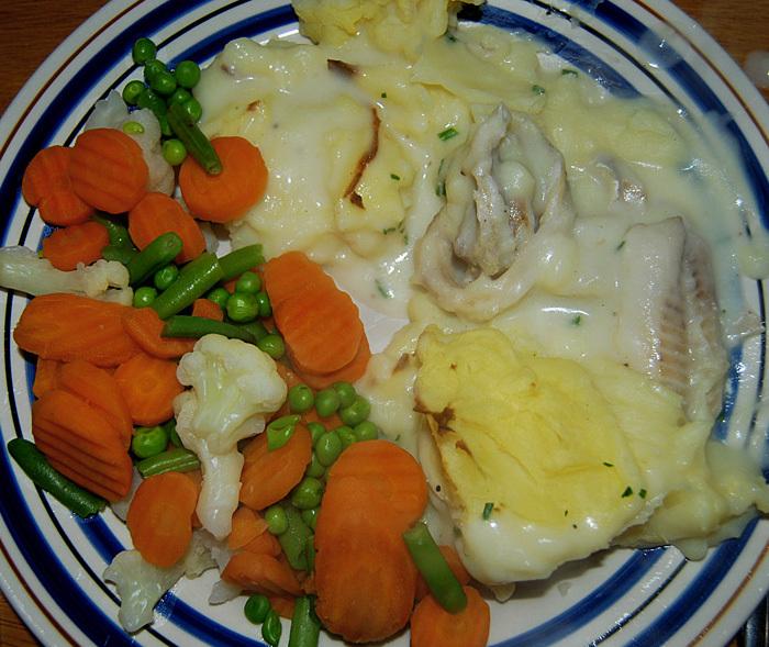 kalorisnål fiskgratäng