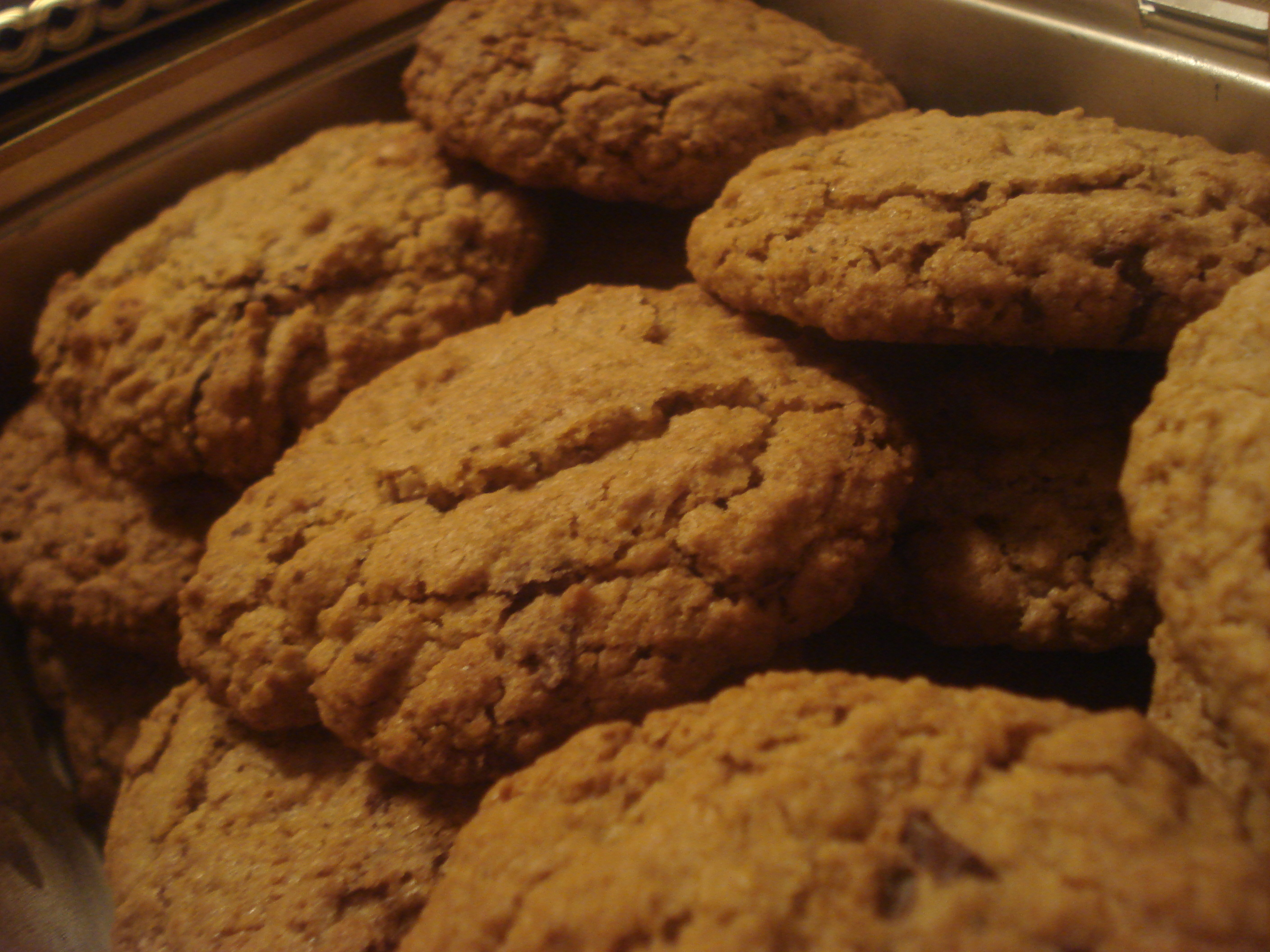chocolate chip cookies utan farinsocker