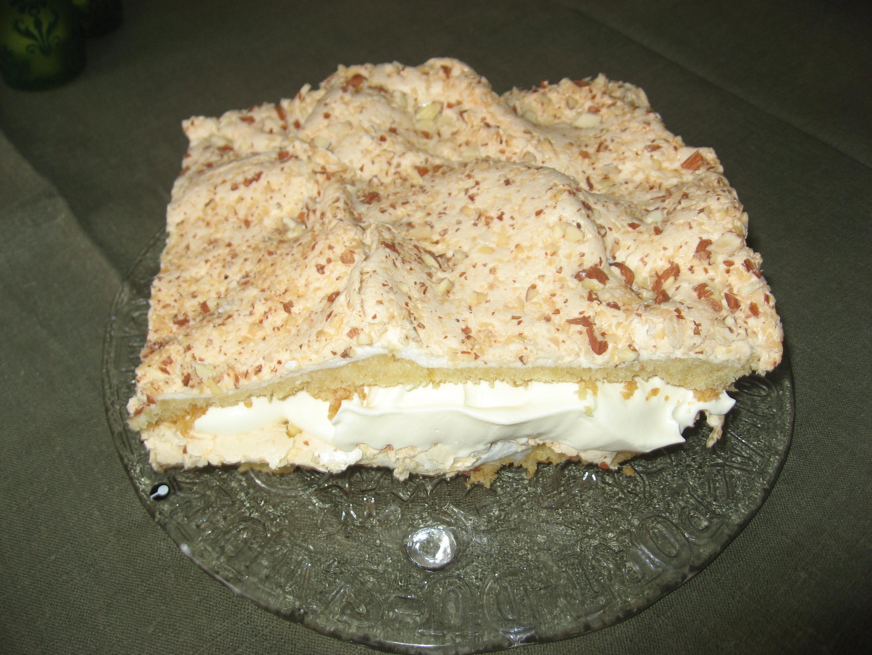 Tårta med romfyllning