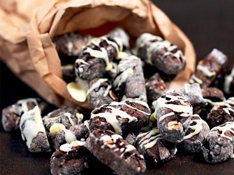 Chokladbiscotti..