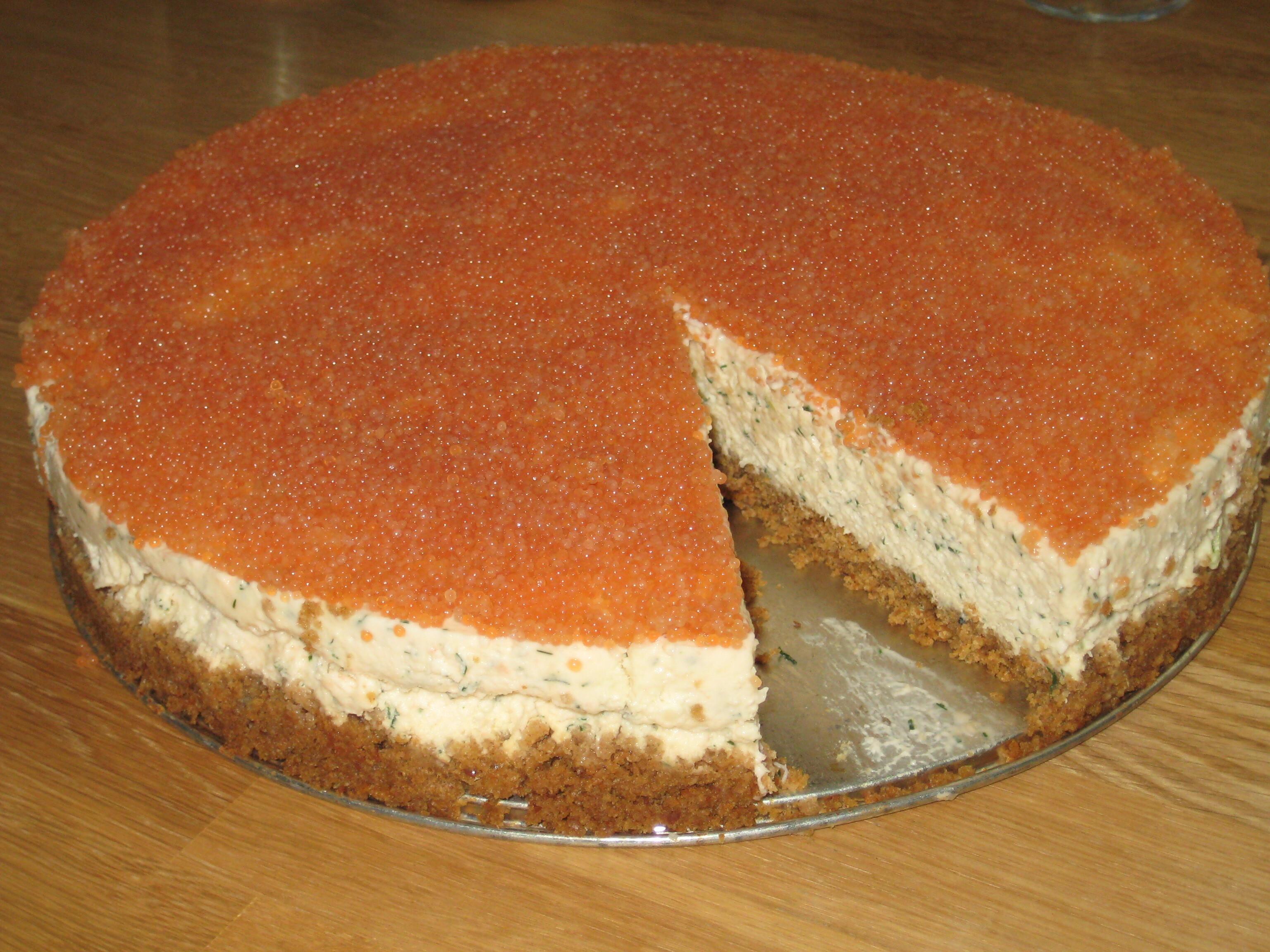 Laxcheesecake