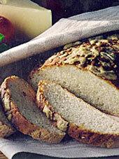 Glutenfritt matbröd med härlig yta