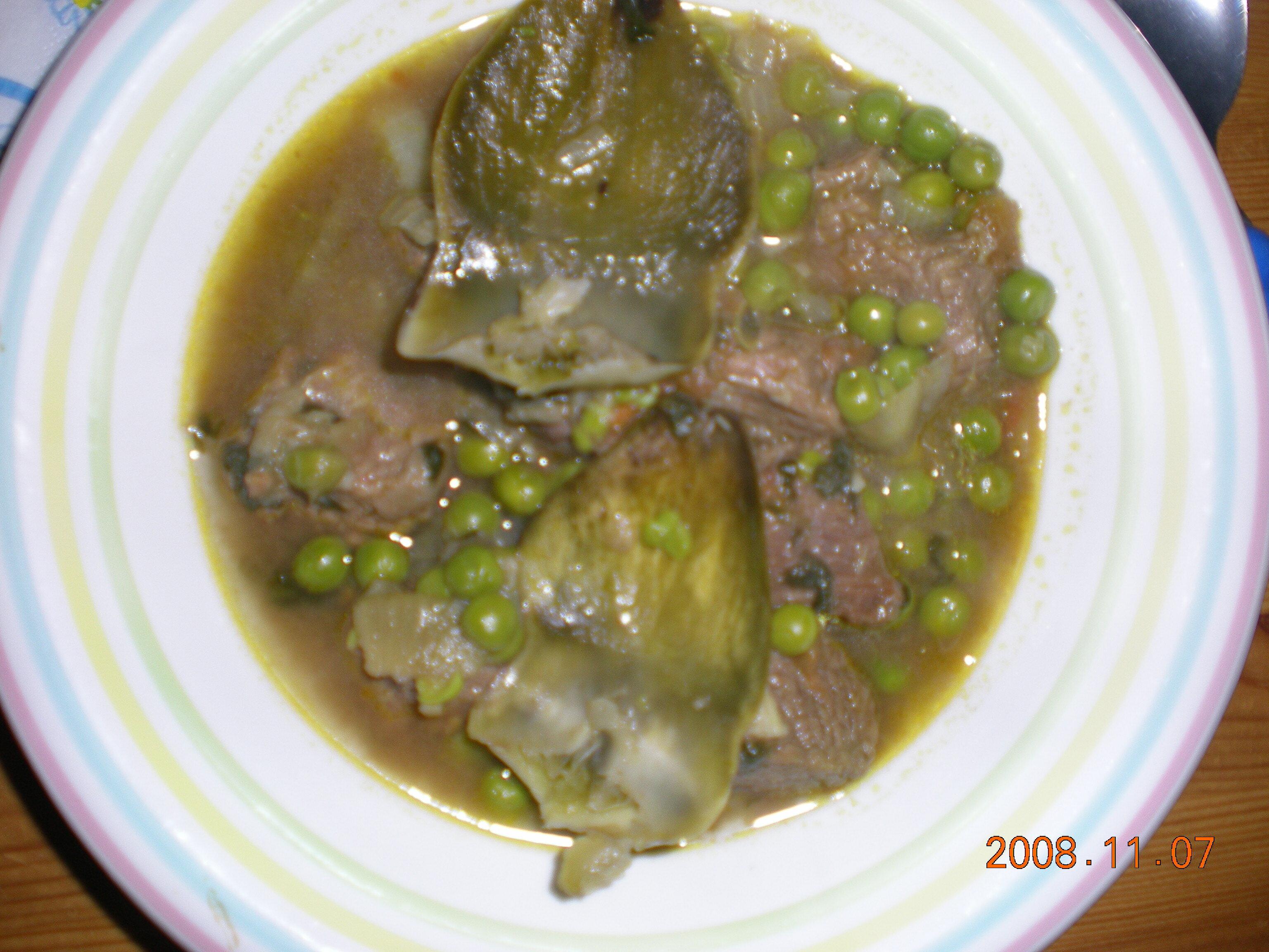 Marockansk kött..