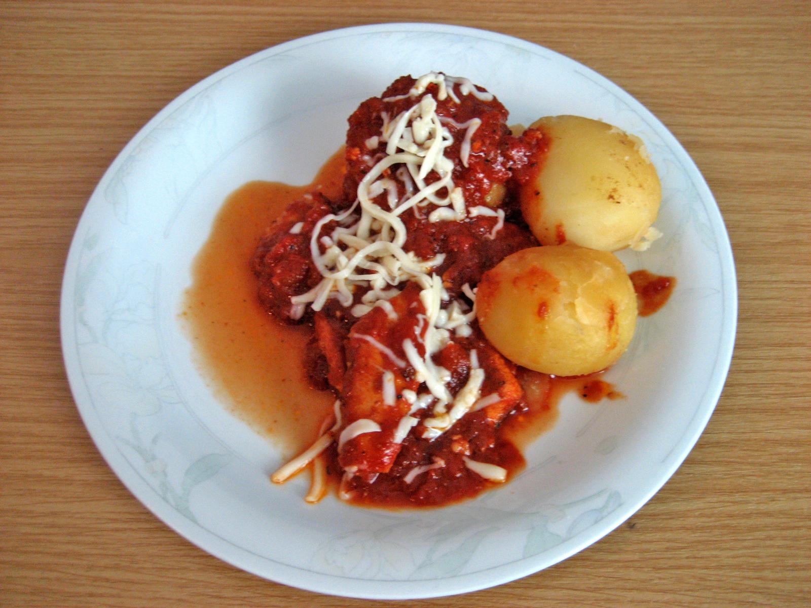 mozzarella sås