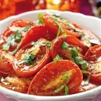 baka tomater i låg temperatur i ugn
