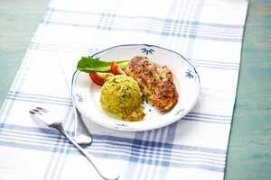 Curryris med äp