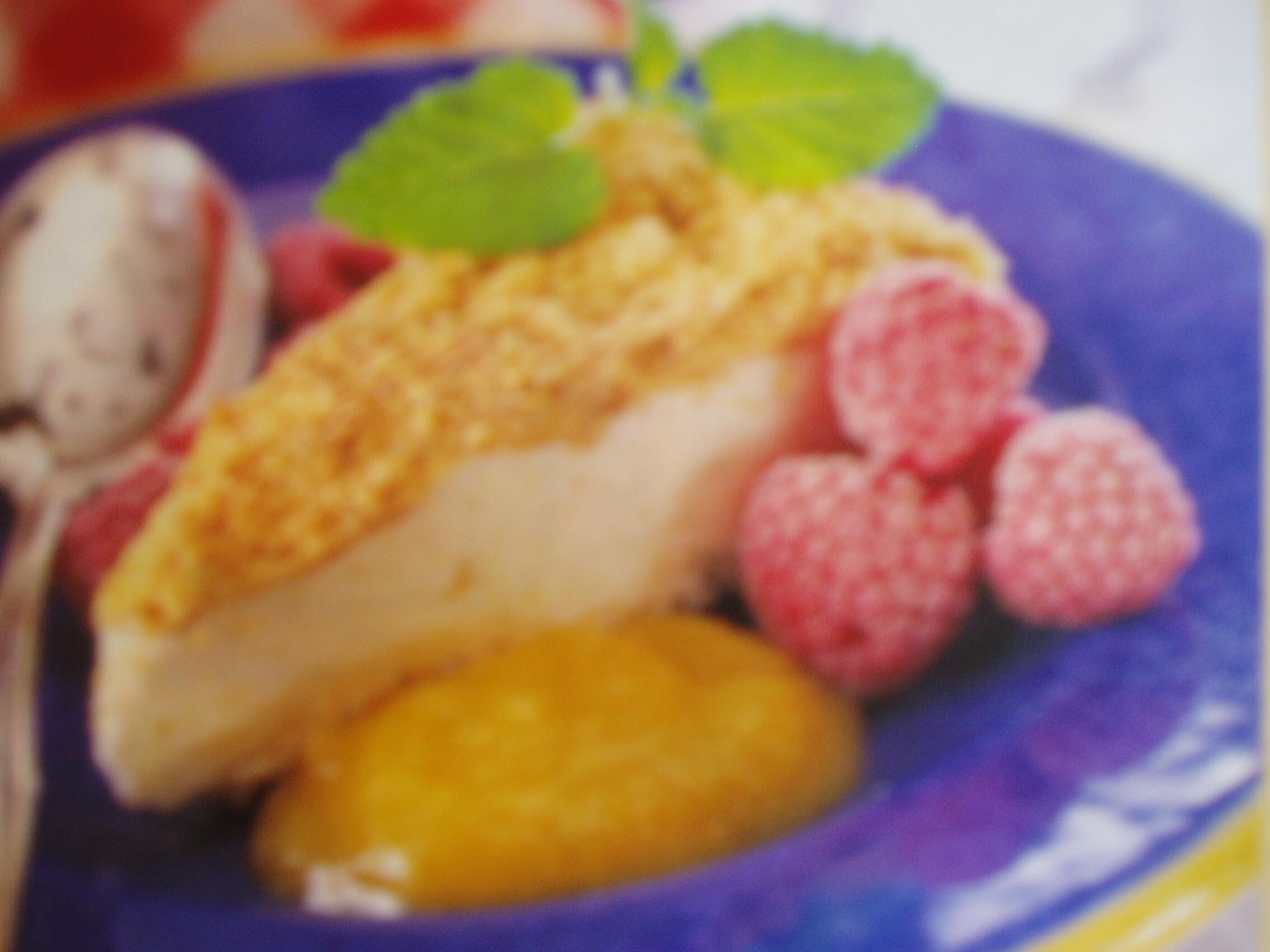 Fryst creme fraiche-tårta