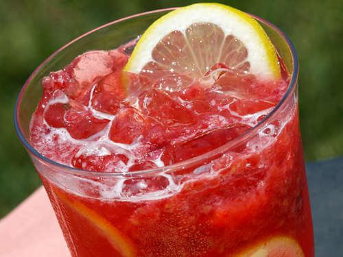 Läskande alkoholfri drink