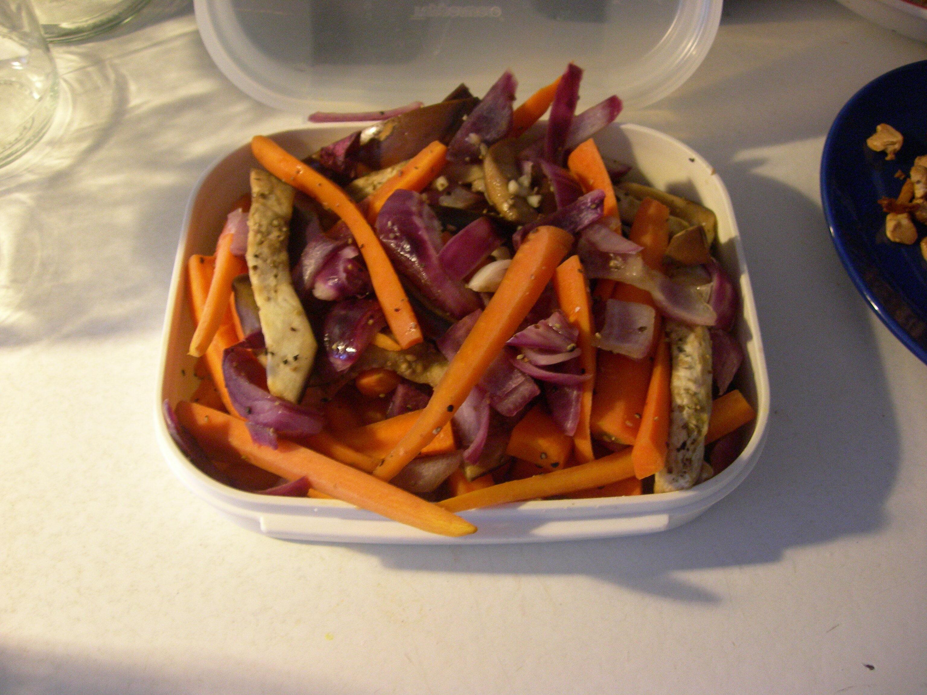 Nyttiga ugnsgrönsaker