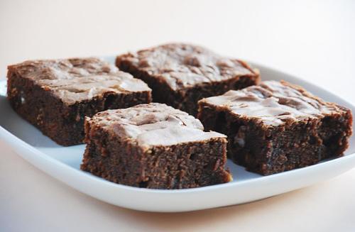 Brownies med ba..