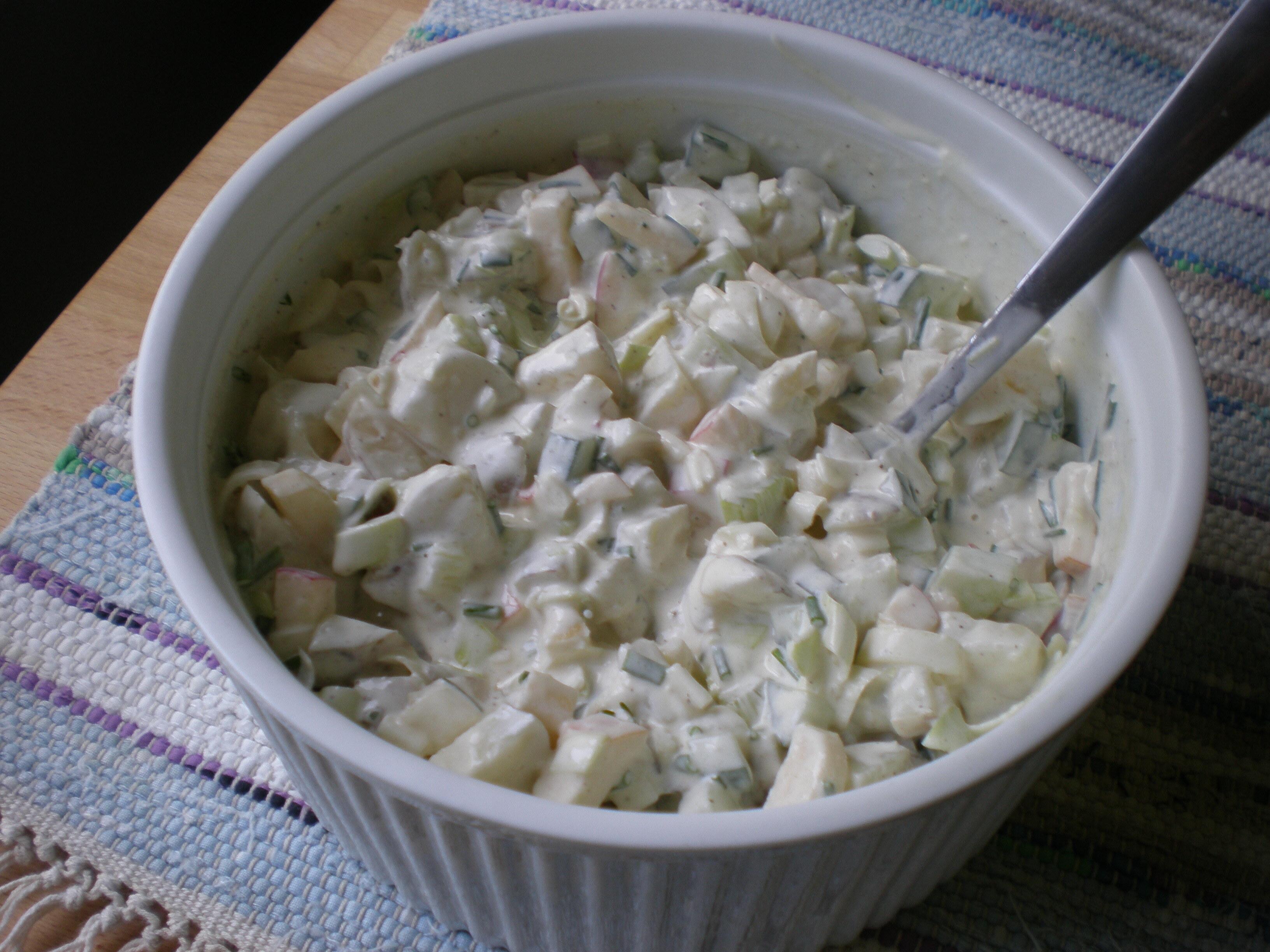 Ingas potatissallad