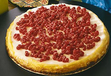 Cheesecake med lingon