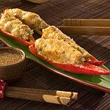 Kochujon med chojang -  färsfylld chili med dipsås