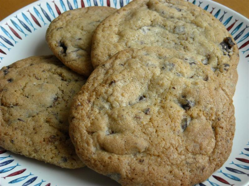 choklate chip cookies utan farinsocker