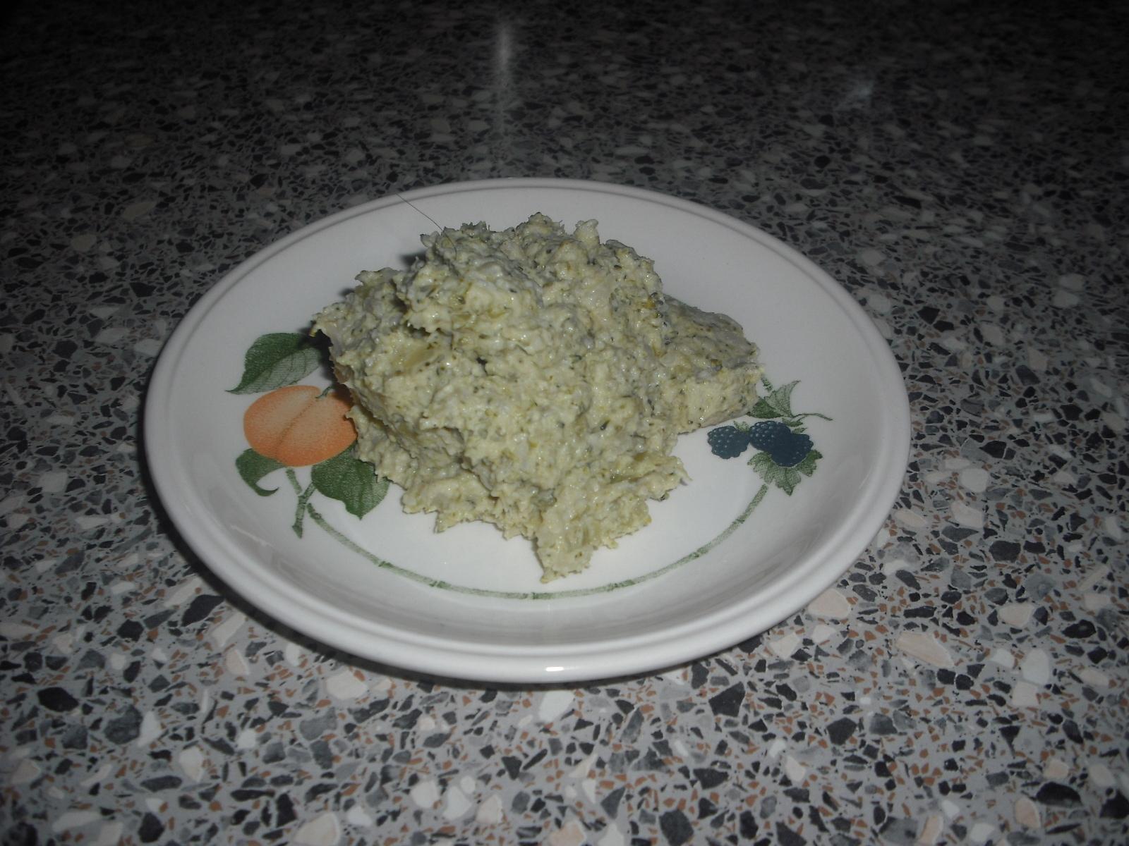 Broccoli och Blomkålsmos - LCHF - GI -