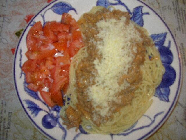 spagetti sås