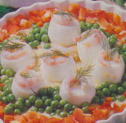 Ägg med färg