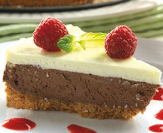 Cheesecake philadelphia digestive hallon recept - myTaste