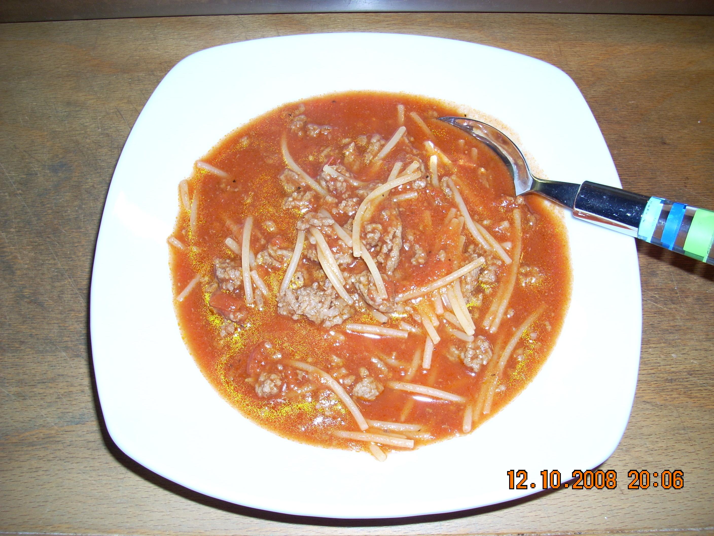 klar soppa utan bitar
