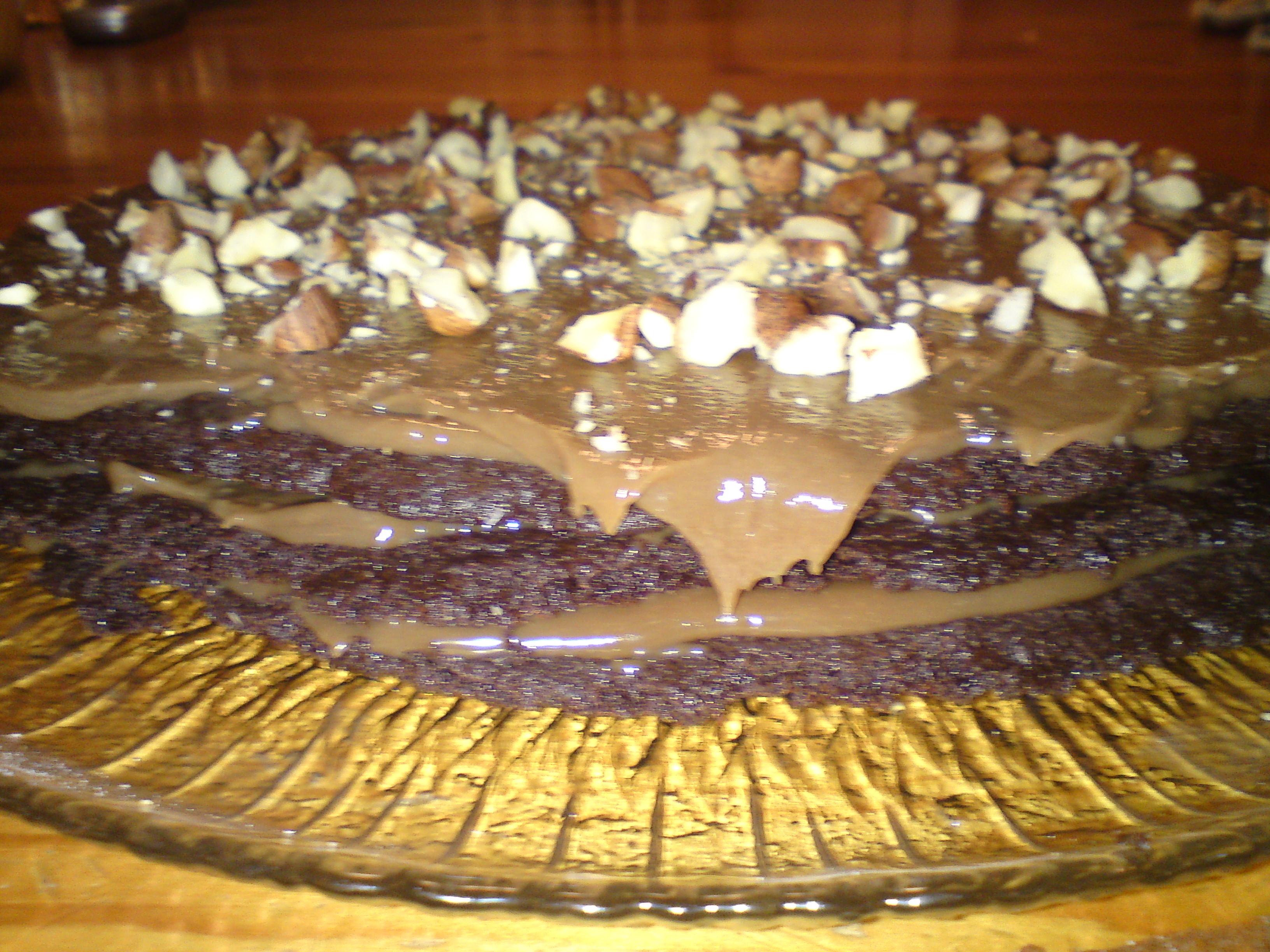 Chokladtårta på..