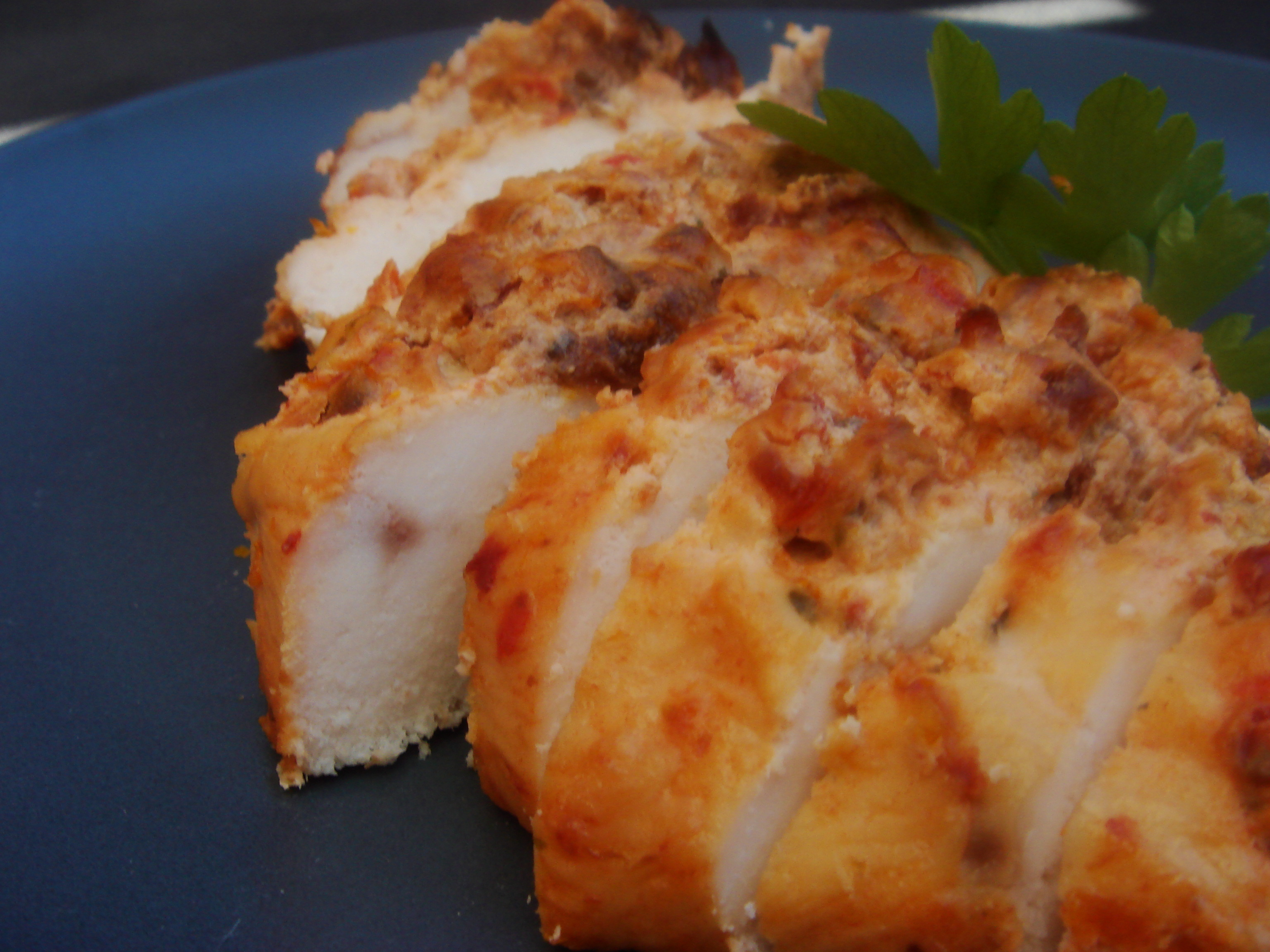 kycklingfile bacon soltorkade tomater