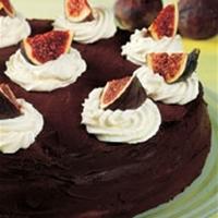 fransk chokladtårta valnötter