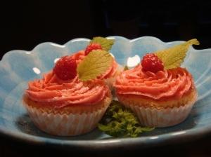 Coconut cupcake..
