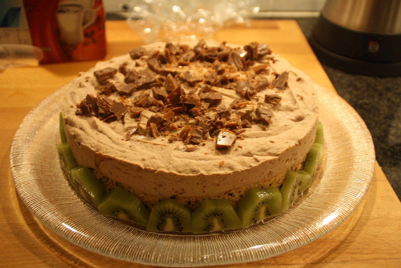 Glasstårta med Daim