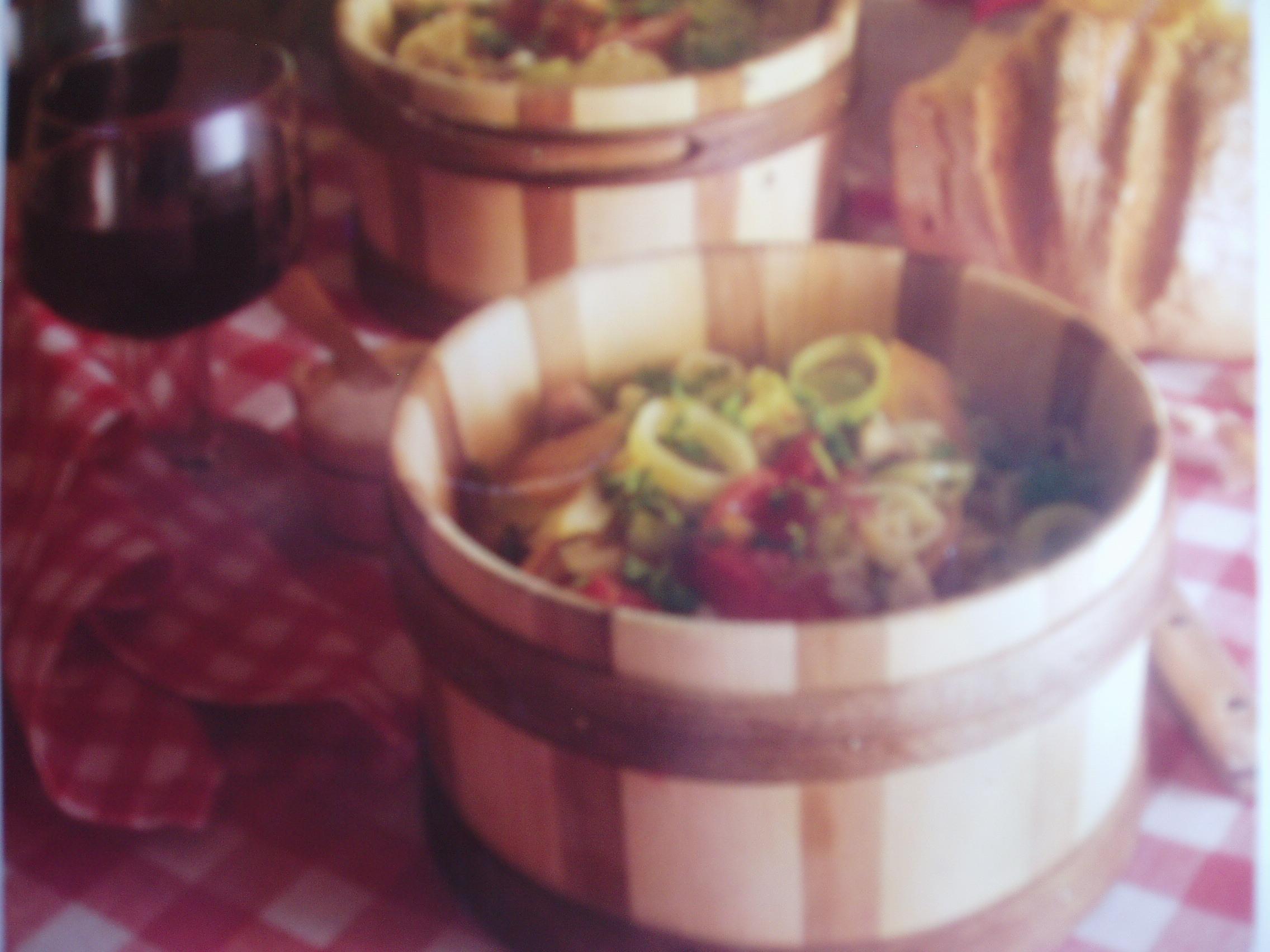 minestronesoppa med skinka