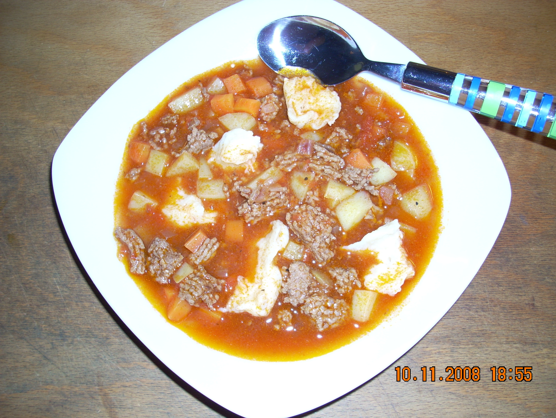 cowboysoppa med morötter