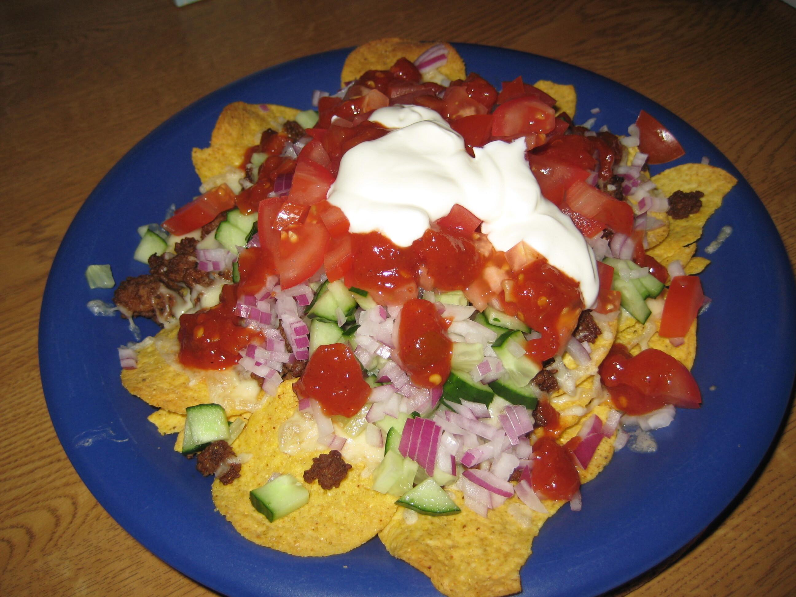 nacho tallrik