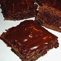 Brownies med vit choklad