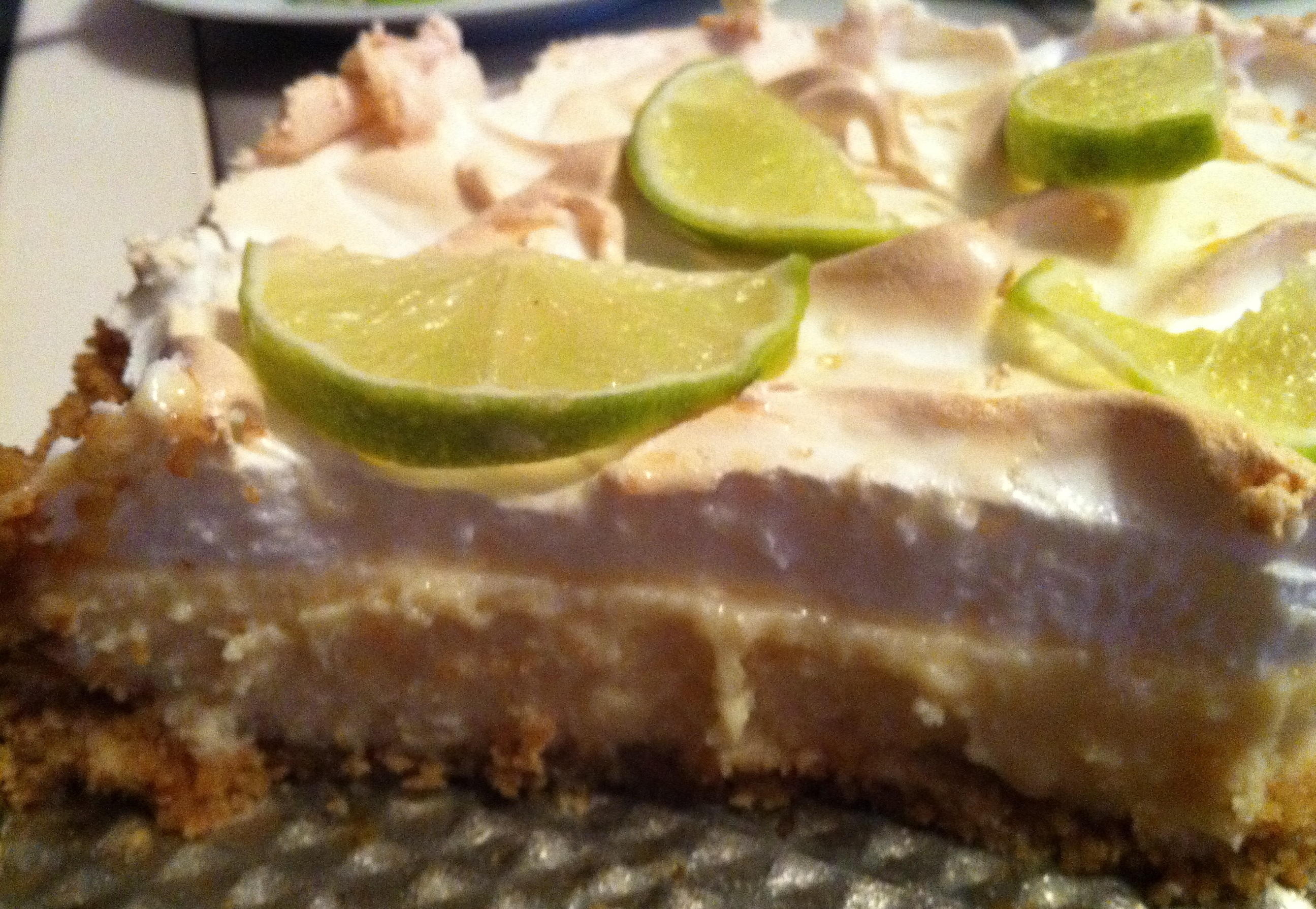 Key lime pie me..