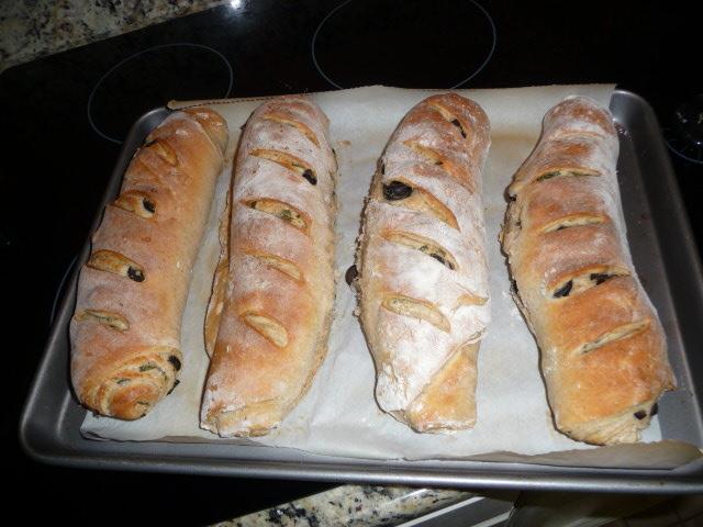 Bröd med basili..