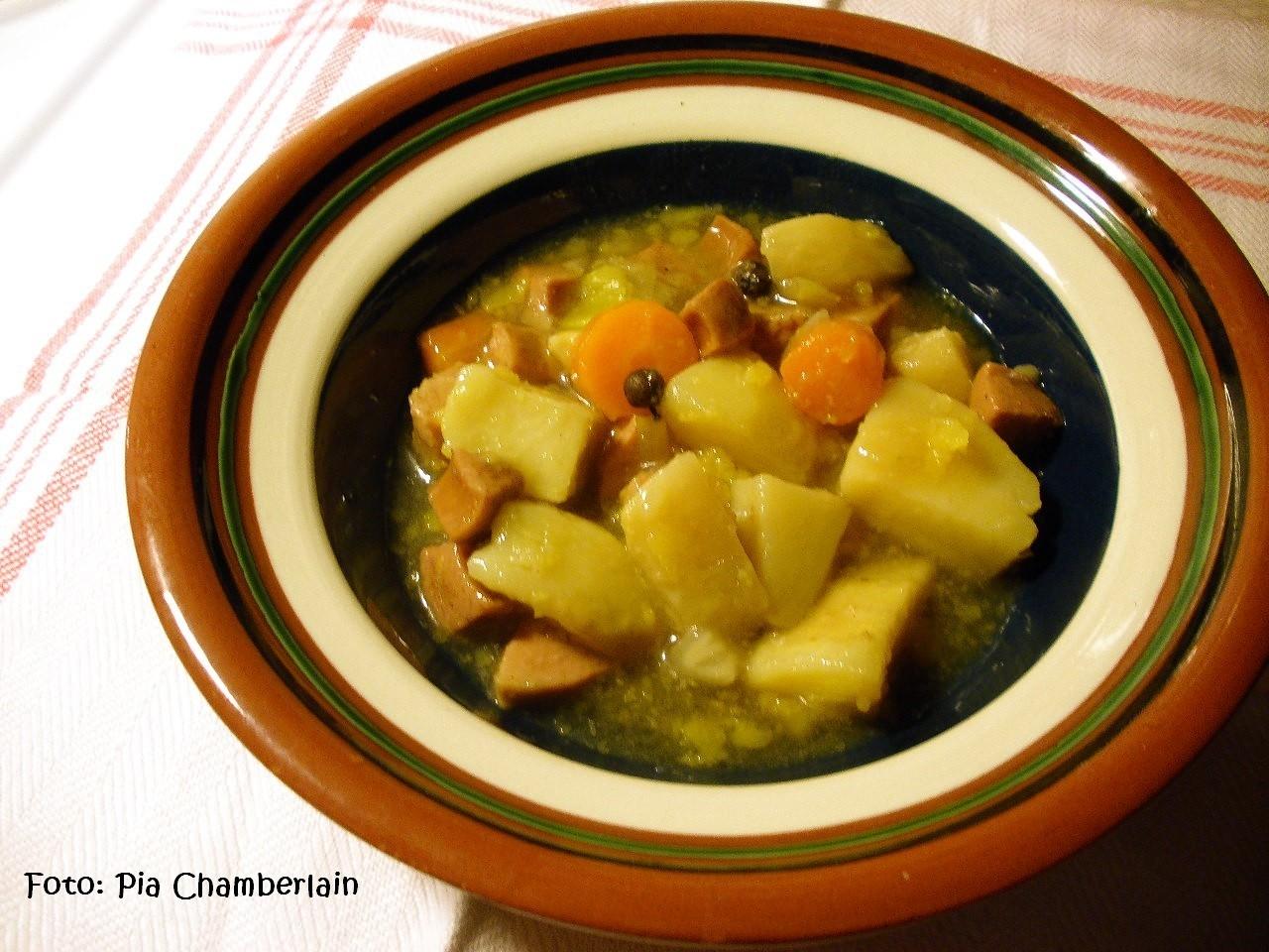 Potatis-korvgryta