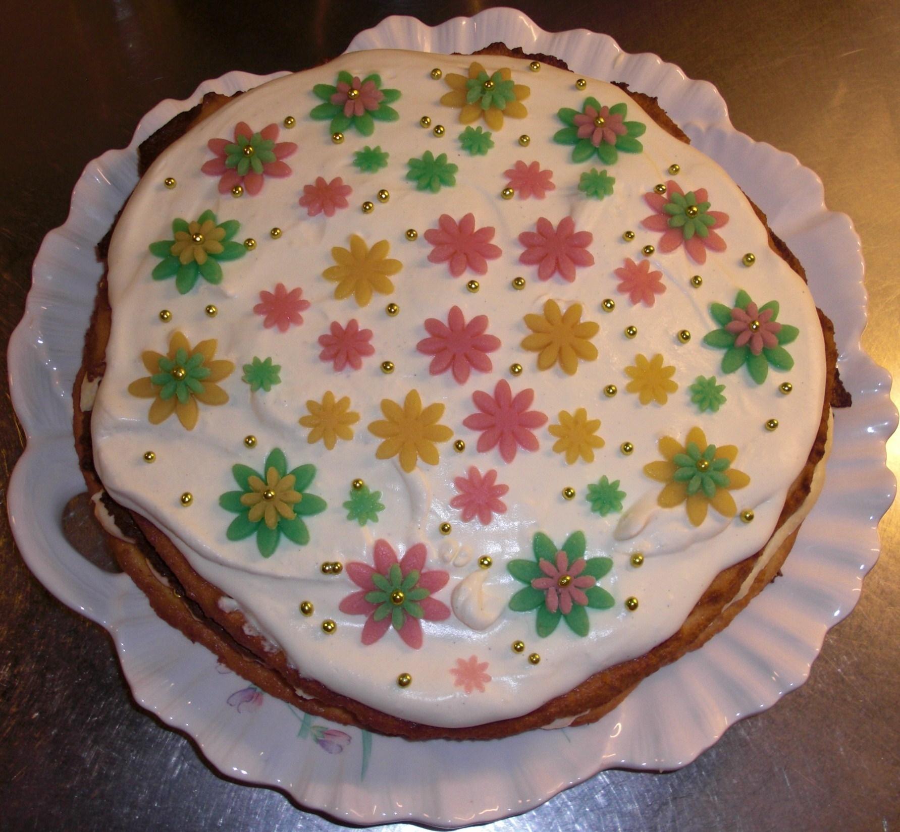Lenas cloudberry cake / Lenas hjortrontårta