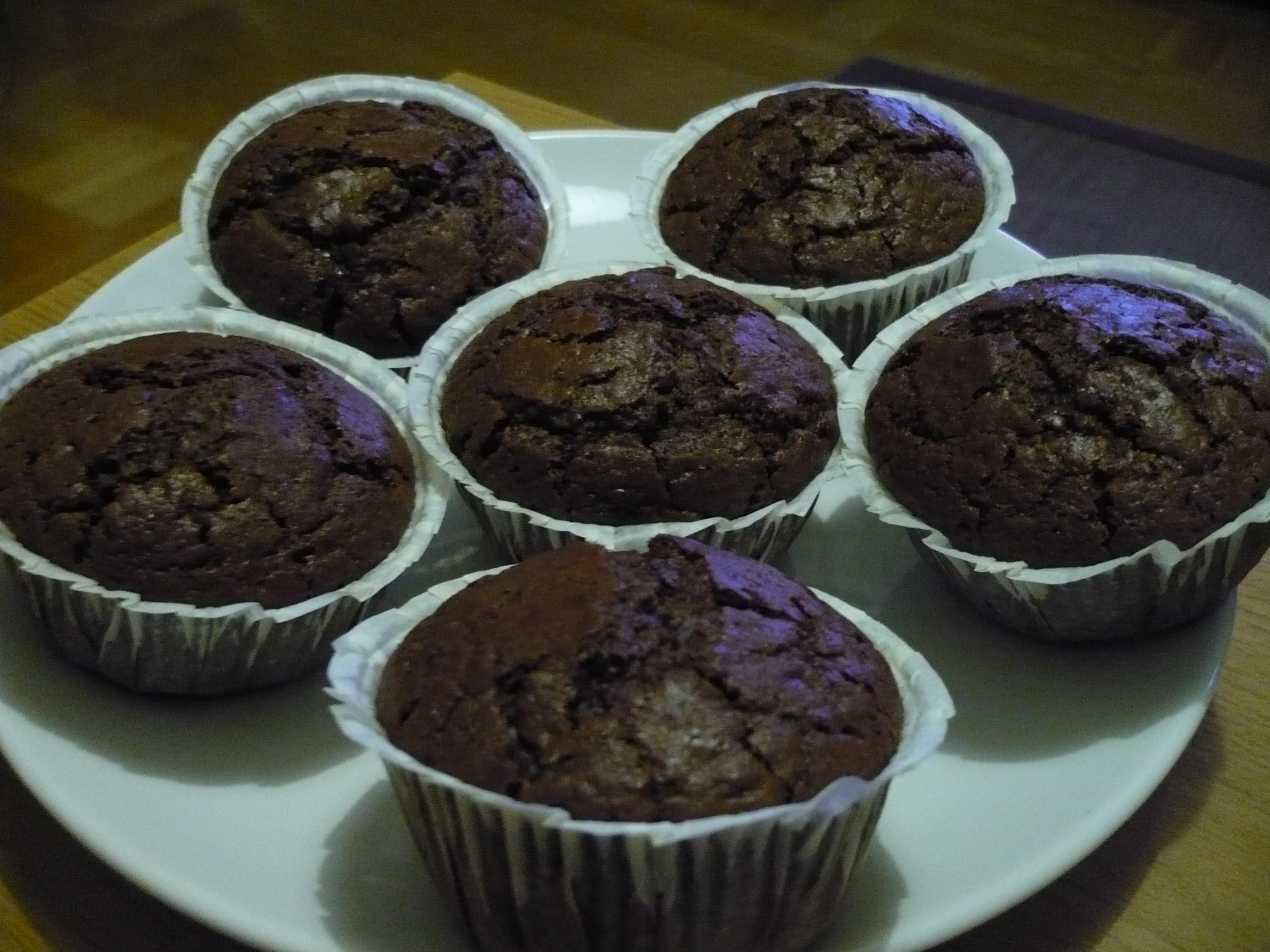 Amerikanska kanel & chokladmuffins