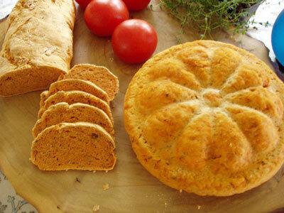 Glutenfritt tomatbröd