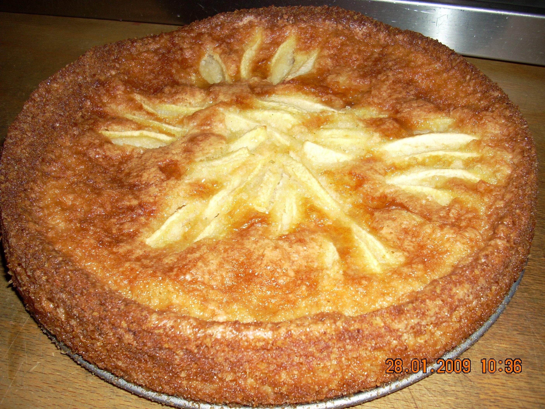 Äppelkaka med k