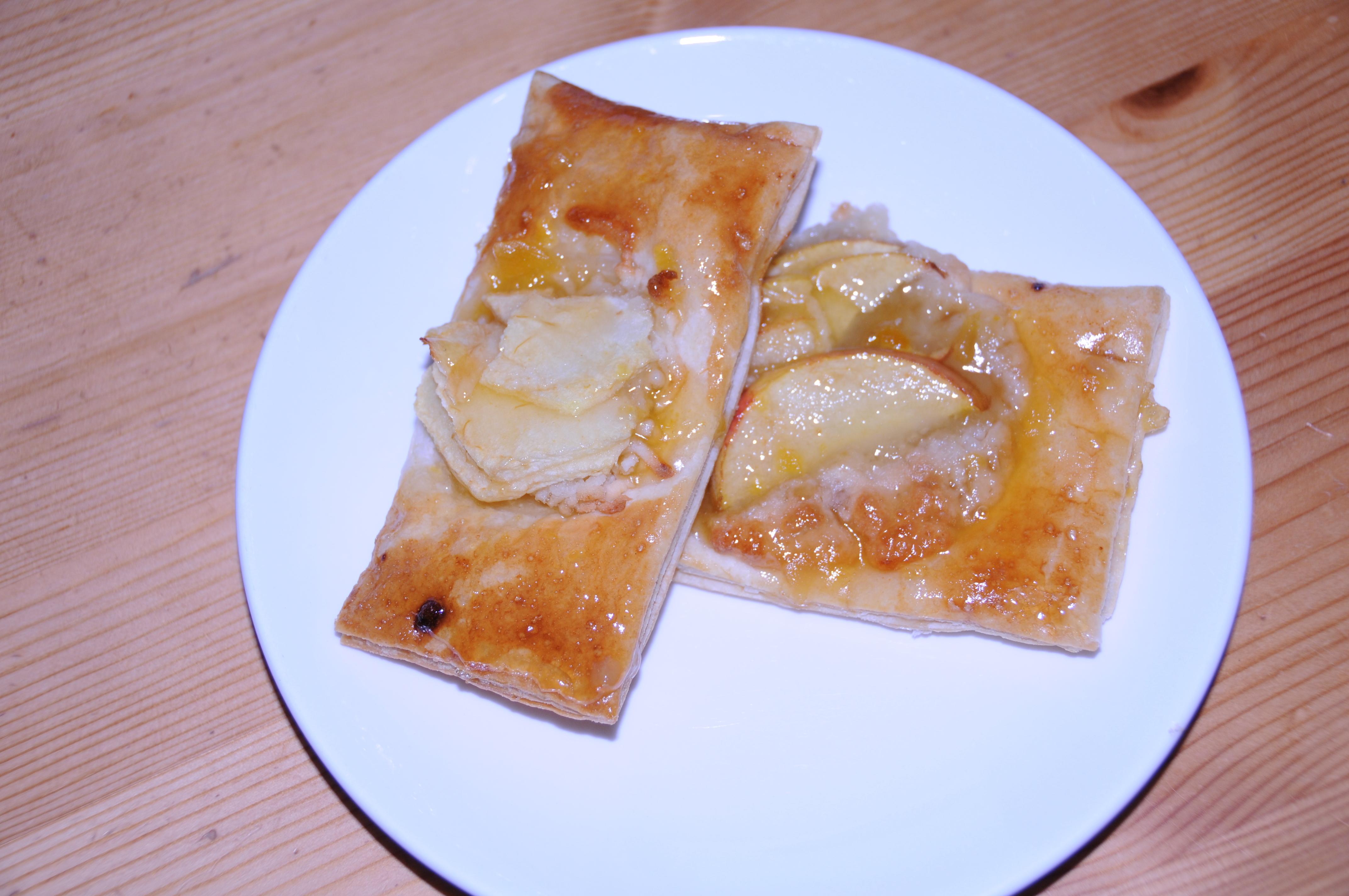 äpple smördeg calvados