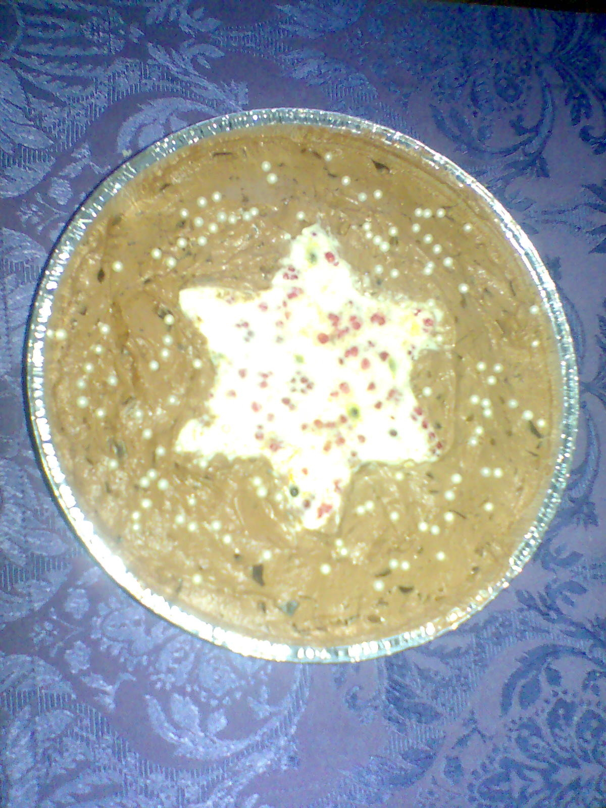 Stjärnhimmelsk frozen cheesecake