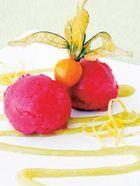 mango sorbet glassmaskin