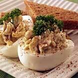 Fyllda ägg..