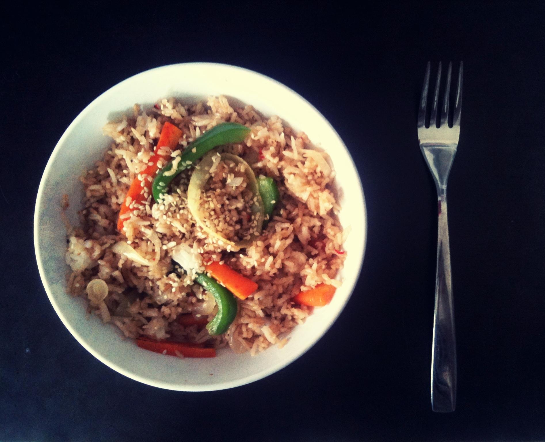 Asiatisk wok me..